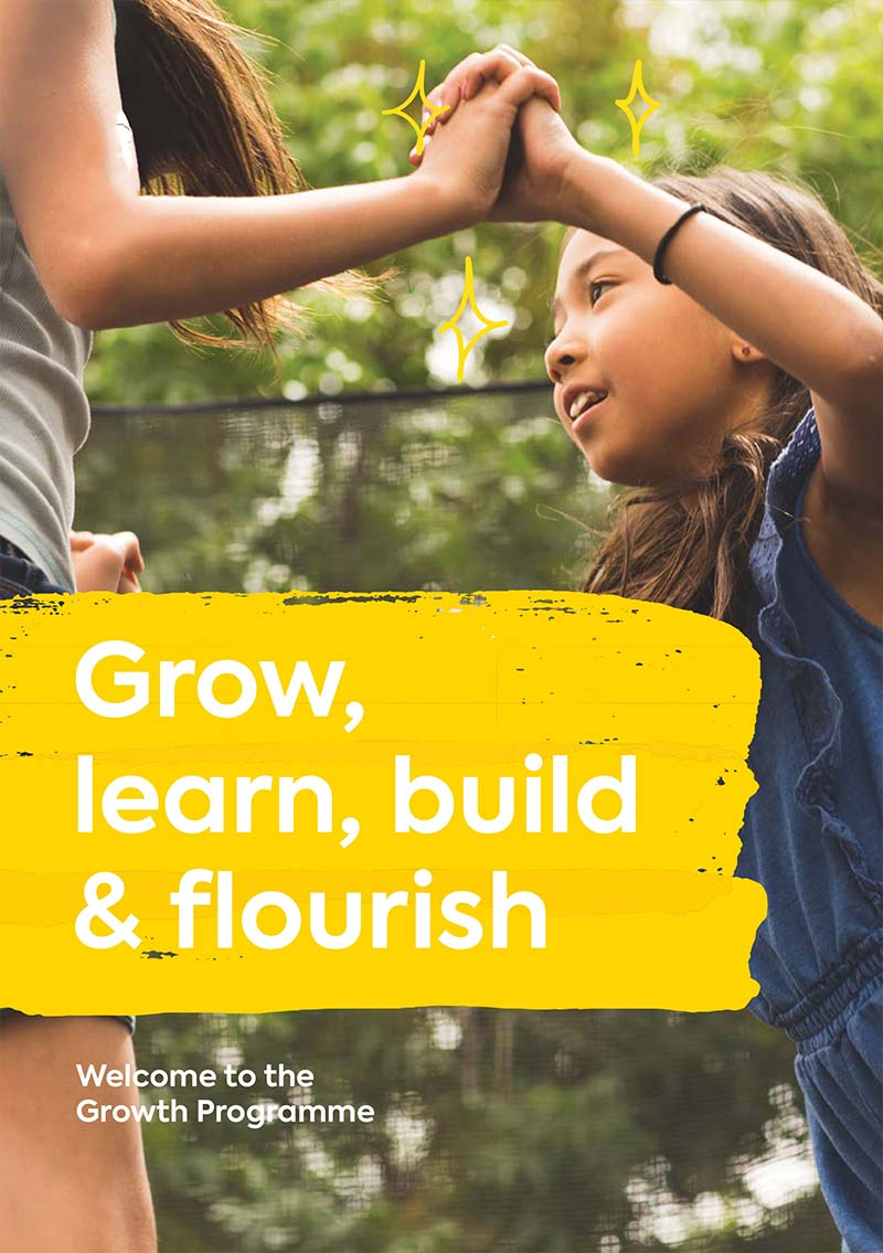 Grow, learn, build & flourish with our Growth Programme!