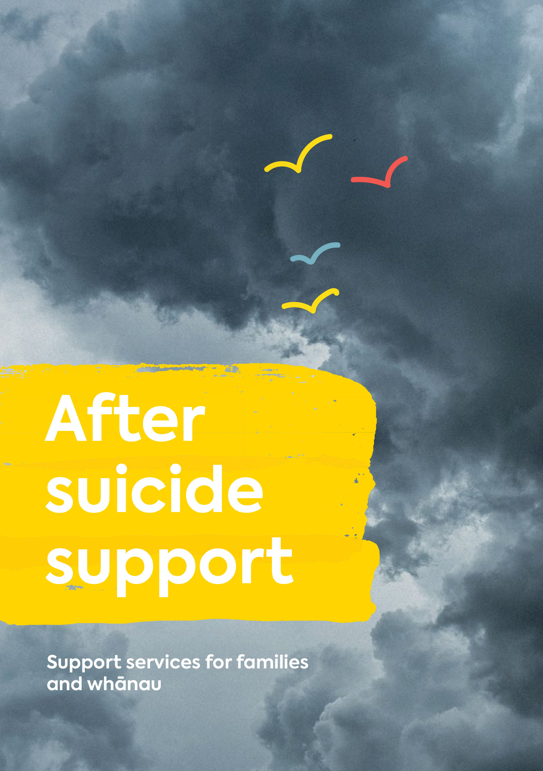 After suicide support services for families and whānau