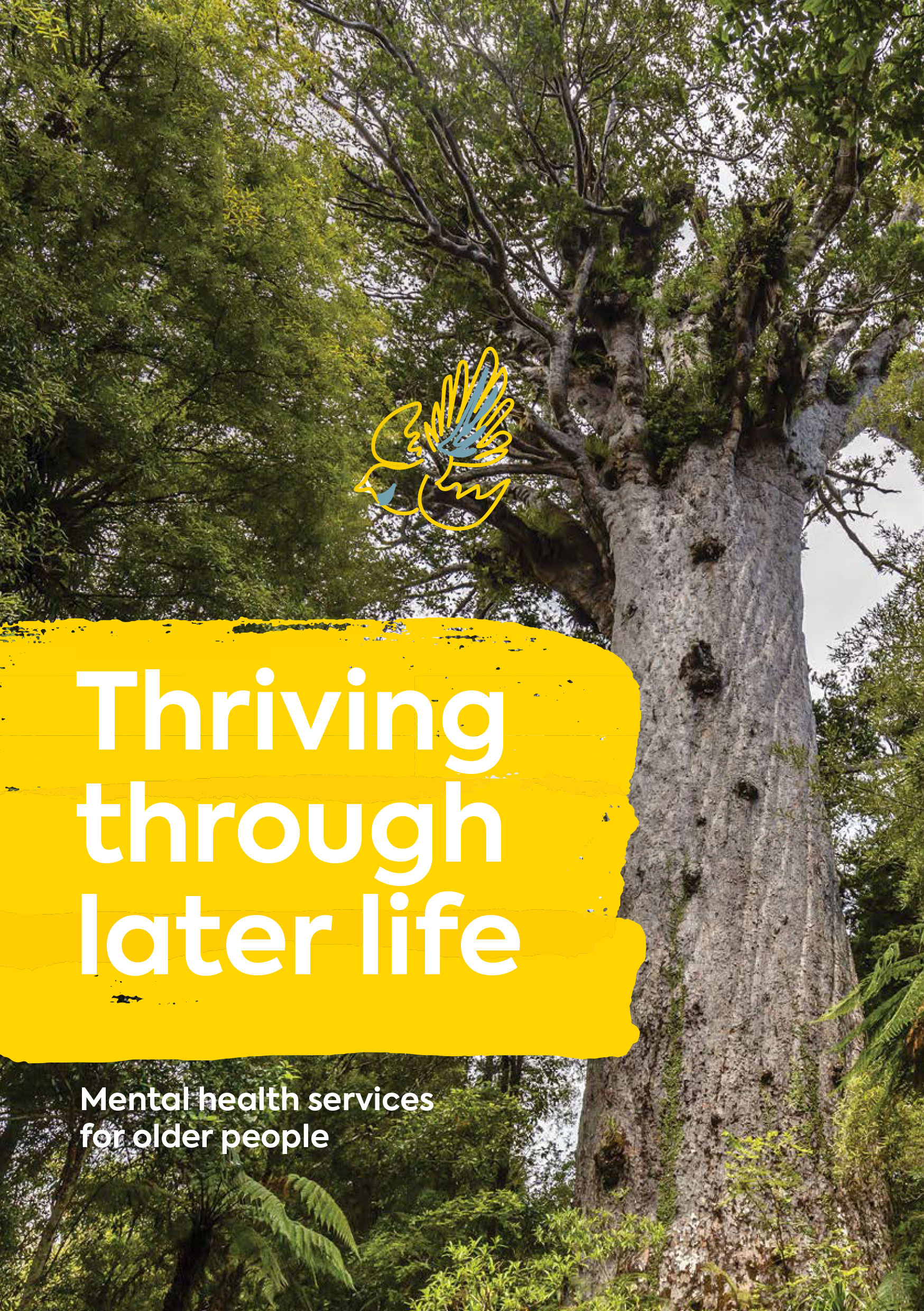 Thriving through later life: mental health services for older people
