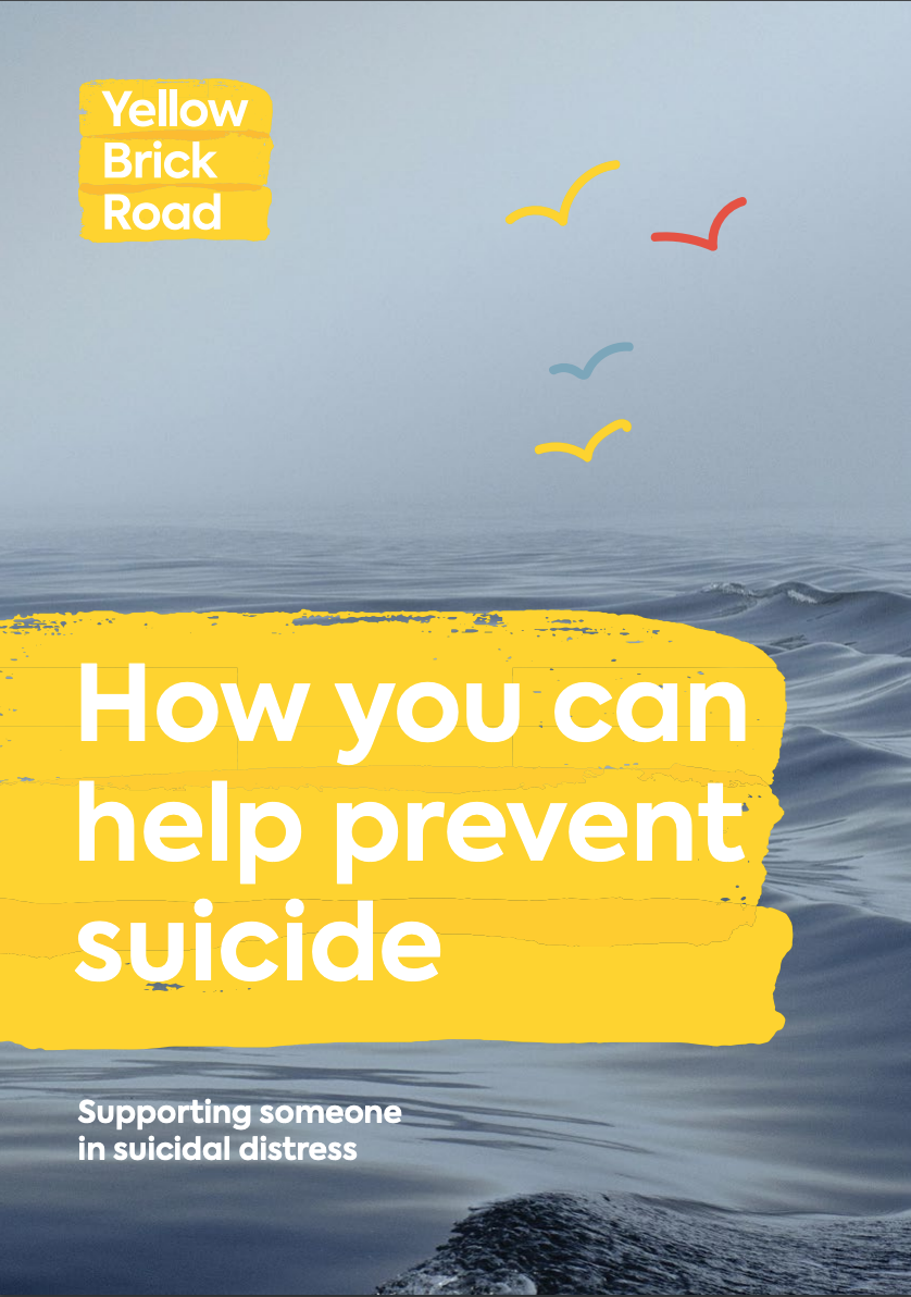 How you can prevent suicide brochure